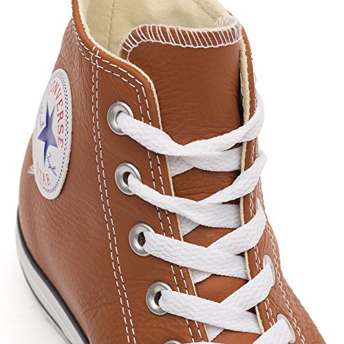 Adulte Leather Seasonal Taylor Unisex Kurzschaft Chuck erwachsene Stiefel Converse All Braun Hi Star BqIgOwxT