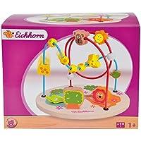Eichhorn 100003708 - Groߟe Motorikschleife, Safari - 19 x 25 x 19 cm, 2 Schleifen mit versch. Elementen preisvergleich bei kleinkindspielzeugpreise.eu