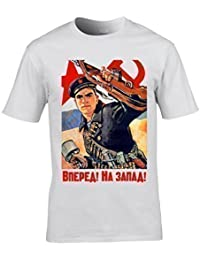 Naughtees clothing - Soviet Russian World War 2 propaganda T-shirt. Printed from an original poster.