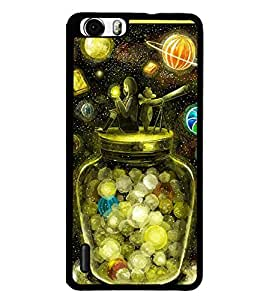 PRINTVISA Abstract Space Case Cover for Huawei Honor 6 Plus::Huawei Honor 6X