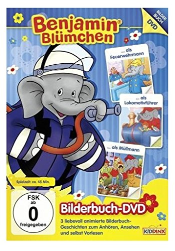 Bilderbuch-DVD: ... als Feuerwehrmann / als Lokomotivführer / als Müllmann