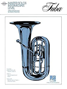 Master Solos Intermediate Level - Tuba (B.C.): Book/CD Pack
