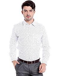 Donear NXG Mens Formal Shirt_SHIRT-1340-WHITE