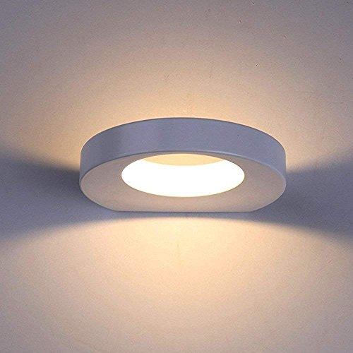 Lanfu 10 W lampada design moderno bianco caldo Lampada parete applique a LED, 180 * 157 * 30 MM