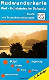 ProjektNord Radwanderkarten, Bl.KI2, Kiel, Holsteinische Schweiz
