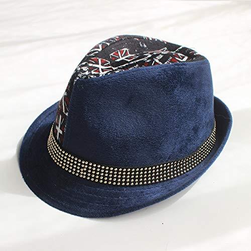 Kostüm Jungen Für Brasilien - mlpnko Kinder Zylinder Cord Junge Jazz Hut Baby Hut Hut Mode Hut Flagge Navy M57cm