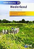 Fietsatlas Nederland 1 : 100 000: Maßstab 1:100 000 (ANWB Fietsatlas)