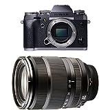 Fujifilm X-T1 Fotocamera Digitale 16 MP, Sensore X-Trans CMOS II APS-C, Schermo LCD 3' Orientabile, Ottiche Intercambiabili, Solo Corpo, Graphite Silver + Fujifilm Fujinon XF18-135mm F3.5-5.6 R LM OIS WR Obiettivo Zoom 18-135mm f/3.5-5.6, Attacco X Mount, Nero
