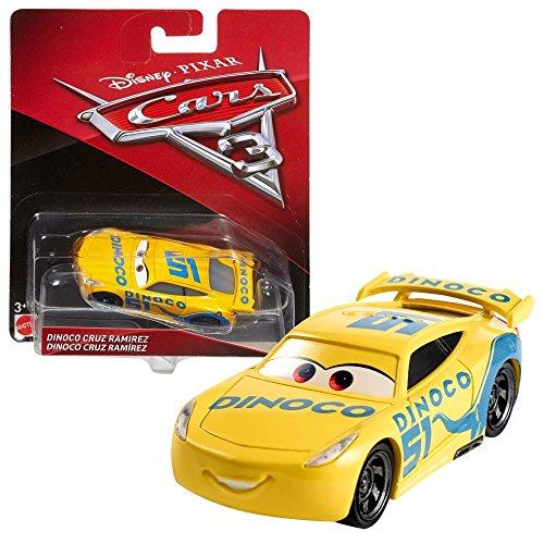 Disney Cars Matchbox (Disney Cars 3 Cast 1:55 - Auto Fahrzeuge Modelle zur Auswahl, Typ:Cruz Ramirez Dinoco)