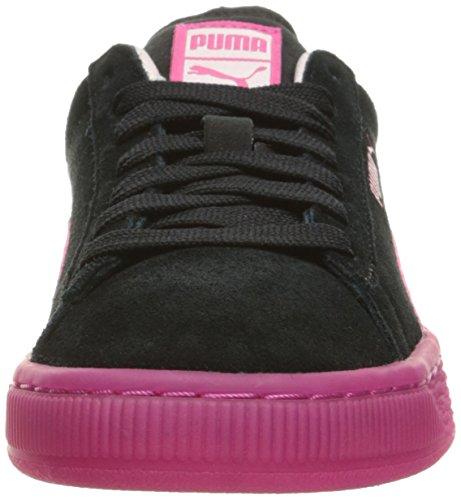 Lfs De Faux Camurça Beterraba Jr Gelado Preta rosa Puma Sneakers roxo Camurça de dxZwnd5X