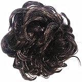 Chanderkash Funky Clutcher Hair Extension Hair Accessory Set (Black)
