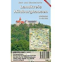 Landkreis Hildburghausen: Rad- und Wanderkarte