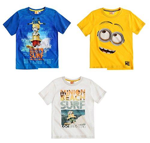 Minions Despicable Me Jungen T-Shirt - blau - 116