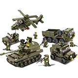 Sluban Building And Construction Blocks M38 B0311 Joint Attack Building Block Construction Set (996 Piece)