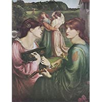 The Bower Meadow, Dante Gabriel Rossetti - Medici impresión