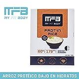MYFITBODY Arroz Protéico, alta Proteína - Estuche 10 sobres x 50 gr - total: 500g