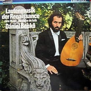 Dániel Benko - Lautenmusik Der Renaissance o Lute Music o Musique De Luth - Telefunken - 6.42705 AZ
