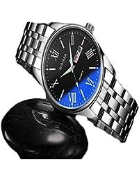 DRKJ Relojes para Hombres, Relojes De Moda A Prueba De Agua, Relojes De Tendencia