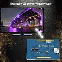 Soportes del módulo de pantalla LCD a color de 3,5 pulgadas para Mega2560 HD 320 * 480 Para Arduino El mejor reemplazo para reparar la pantalla defectuosa (Color: azul y negro)