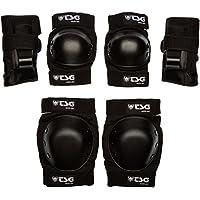 TSG Basic - Set de protecciones, color negro, talla S