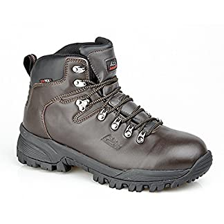 Johnscliffe Mens Canyon Leather Superlight Hiking Boots 8