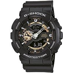 Casio Herren-Armbanduhr XL G-Shock Style Series Chronograph Quarz Resin GA-110RG-1AER