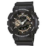 Casio Herren Chronograph Quarz Uhr mit Resin Armband GA-110RG-1AER