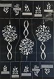 Henna Tattoo Schablone zur einmaligen Verwendung S336 für Henna Glitter Airbrush Tattoo geeignet