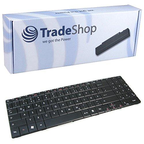 Laptop-Tastatur / Notebook Keyboard Ersatz Austausch Deutsch QWERTZ für Packard Bell Easynote DT85 LJ65 LJ75 TJ65 TJ75 TJ66 TJ67 TJ68 TJ71 LJ61 LJ71 (Deutsches Tastaturlayout)