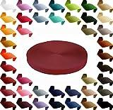 maDDma  12m Polypropylen PP Gurtband 25mm, Gurt 1,3mm stark, Farbwahl, Gurtband:520 weinrot