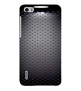 Fiobs Designer Phone Back Case Cover Huawei Honor 6 Plus ( Black Back Ground case )