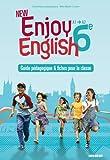 New Enjoy English 6e - guide pédagogique + fiches