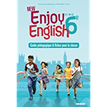 New Enjoy English 6e - Guide pédagogique + fiches