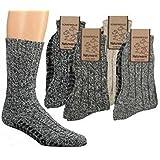 TippTexx24 ® 6 Paar superwarme ABS-Stopper-Norweger-Socken EIN ECHTER HAUSSCHUH-ERSATZ