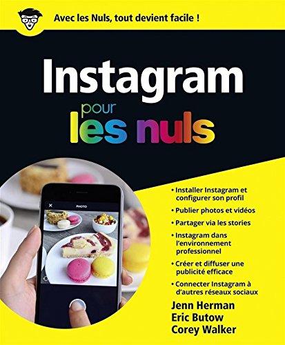 Instagram pour les Nuls par Auteur INCONNU