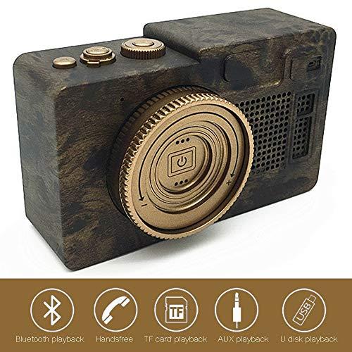 LOEROY Mini Portable Bluetooth Lautsprecher, Freisprecheinrichtung, Wireless Bluetooth 4.1, Lautsprecher, für Telefon, Tablet, TV, Geschenkideen (Akustik-wireless-lautsprecher)