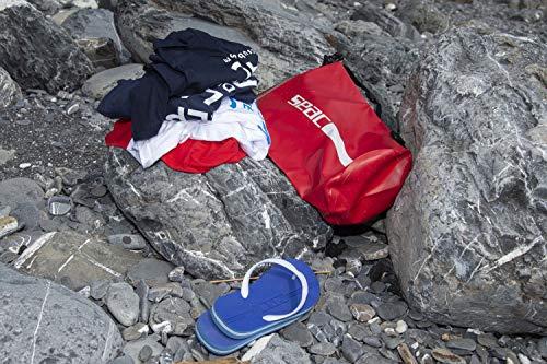 Seac Dry Bag Sacca Stagna Impermeabile per Subacquea e Nautica Rosso 15 litri