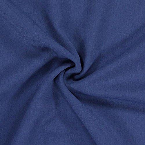 Fabulous Fabrics Bi Stretch Gabardine - Jeansblau - Meterware ab 0,5m - zum Nähen von Businesskleidung, Hosen und Röcke -