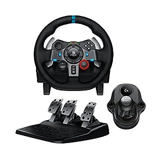 Logitech G29 Driving Force Racing Wheel & Pedals Plus Gear Shifter Bundle (PS4 / PS3 & PC) UK-Plug (B01LSKLAOU) | Amazon Products