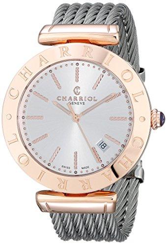 charriol-senor-reloj-de-pulsera-alexandre-c-alp51104-acero-inoxidable