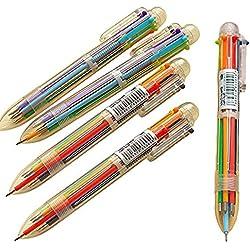 Laat Bolígrafo de tinta de gel de colores, 5 unidades