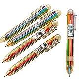 LAAT - Penne a Sfera con Inchiostro Gel colorato, Articoli creativi di cancelleria, Multiuso, Set di 5 Pezzi ... (2)
