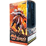 Pokemon Cartas Sun & Moon Booster Pack Caja 30 Packs en 1 caja Asedio de Vapor Sol y Luna(Sun Collection) + 3pcs Premium Card Sleeve Corea Ver TCG