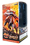 Pokemon Cartas Sun & Moon Booster Pack Caja 30 Packs en 1 caja Asedio de Vapor Sol y Luna(Sun Collection) + 3pcs Premium Card Sleeve Corea Ver TCG