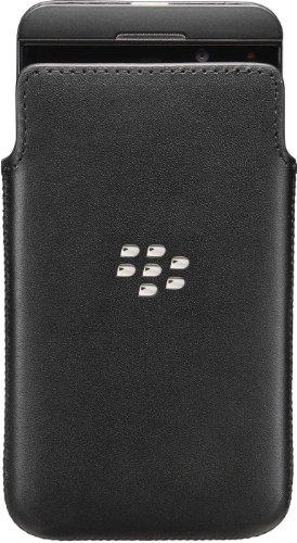 Blackberry ACC_49276_201 echtem Leder Schutzhülle Z10
