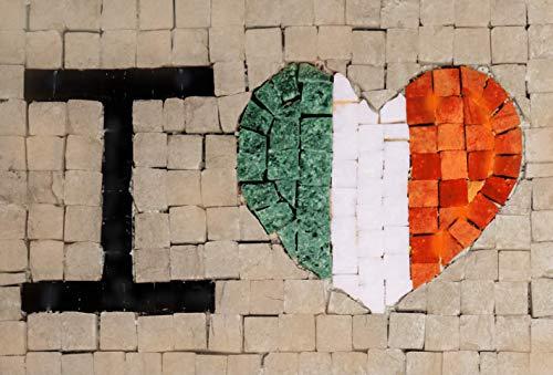 Trois petits points Juego de 3 pequeños Puntos de Mosaico Completo M Love Ireland-Maxi, 6192459601137, Universal