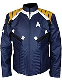 F&H Men's Star Trek Beyond Captain Kirk Chris Pine Jacket