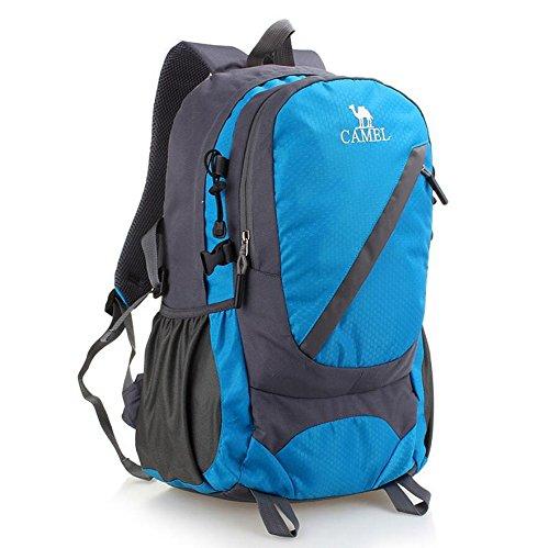 20-35 Outdoor Sports Mountaineering-Beutel-Schulter-Beutel-Spielraum Große Rucksack Tasche Blue