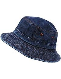 FRIENDSKART Blue Denim Hat for Girls and Women's