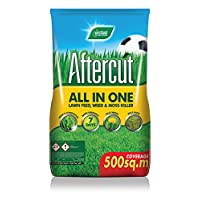 Westland Aftercut 500sq m All in One Lawn Feed Weed Moss Killer